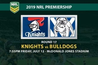 Knights vs Bulldogs NRL Round 17 betting tips