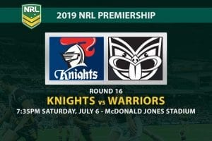 Knights vs Warriors NRL 2019 betting tips