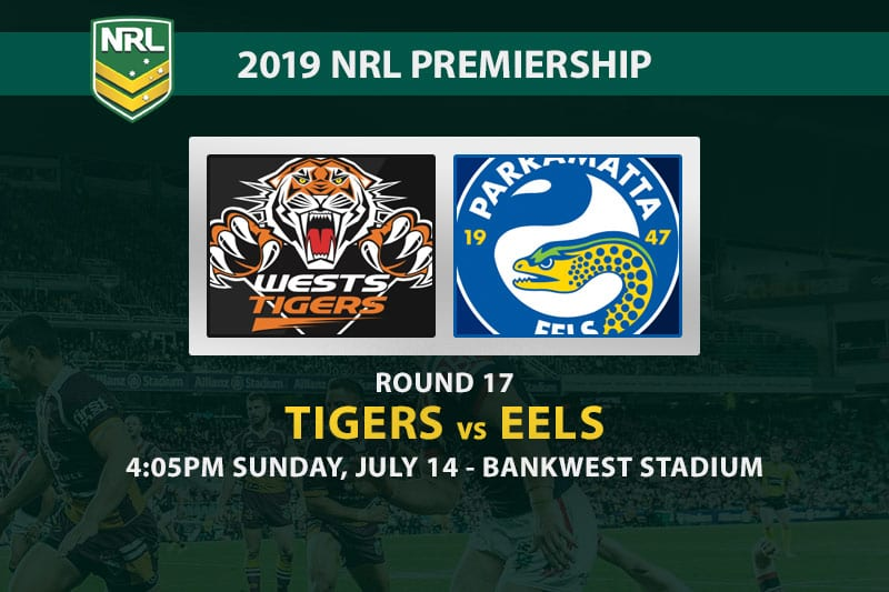 Tigers vs Eels NRL 2019 betting tips