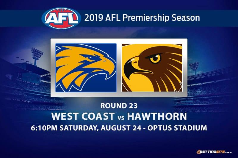 Eagles vs Hawks AFL Round 23 betting tips