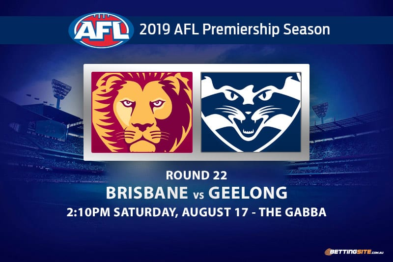 Lions vs Cats AFL Round 22 betting