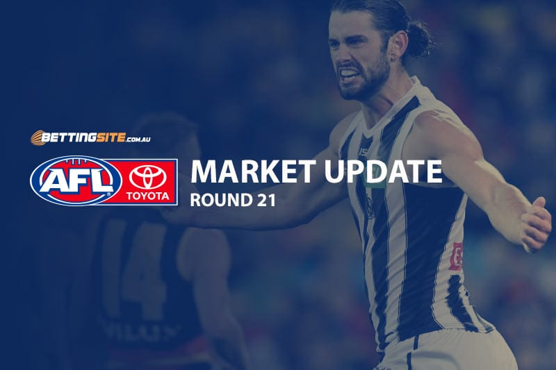AFL Round 21 odds and betting news