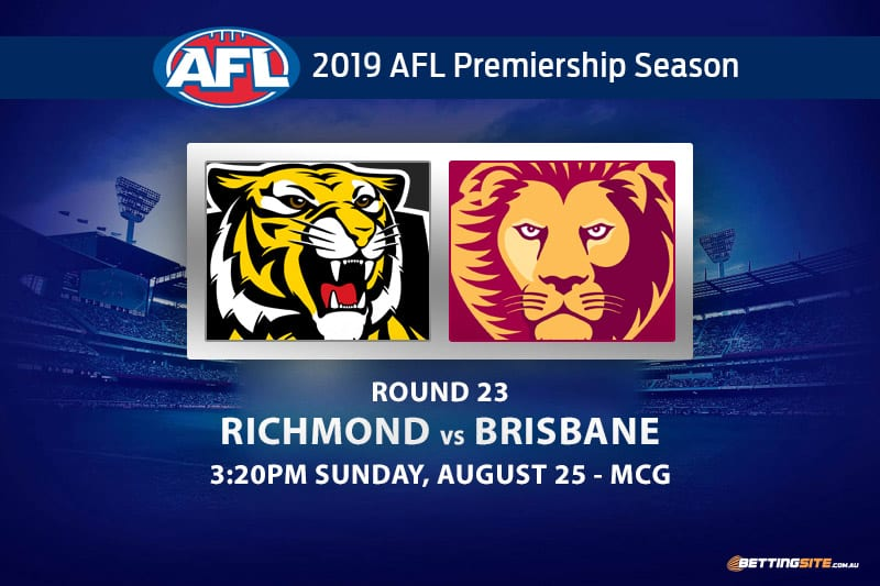 Tigers vs Lions AFL Round 23 betting tips