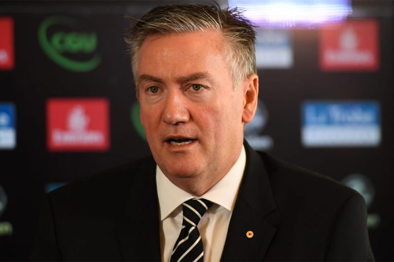 Who will replace Eddie McGuire as Collingwood president