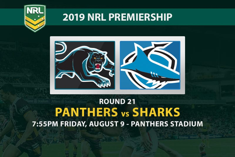 Panthers vs Sharks NRL Round 21 betting tips