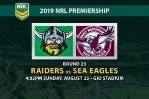Raiders vs Sea Eagles betting tips