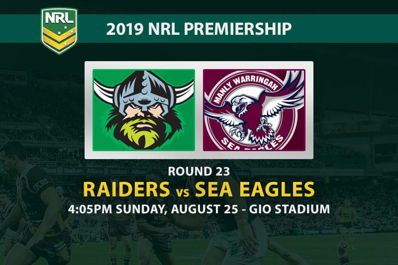 Raiders vs Sea Eagles betting tips