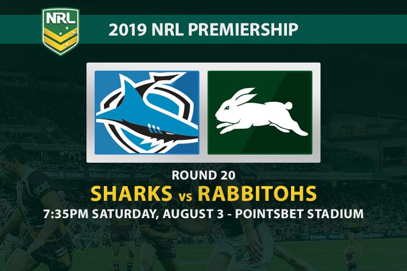 Sharks vs Souths NRL Round 20 betting tips