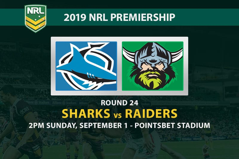 Cronulla Sharks vs Canberra Raiders NRL 2019