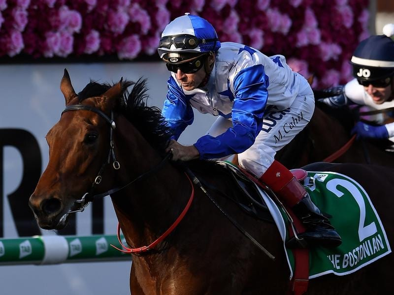 Michael Cahill rides The Bostonian in the Kingsford-Smith Cup