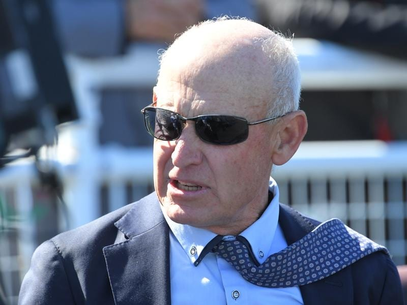 Trainer Terry Robinson after Lady Demi's Randwick win.