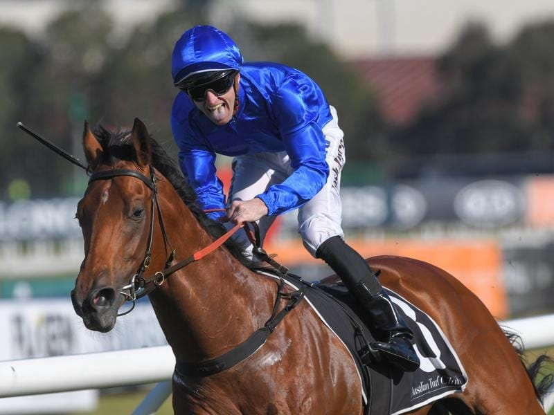 Bivouac wins the Run To The Rose at Rosehill.
