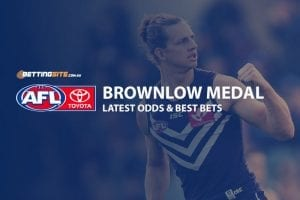 Brownlow Medal 2019 odds