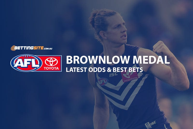 betting odds afl brownlow