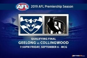 Cats vs Magpies AFL 2019 odds