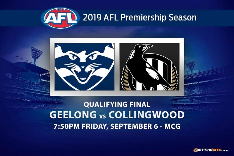 Cats vs Magpies AFL 2019 odds