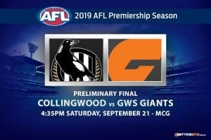 Collingwood vs GWS betting tips