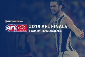 2019 AFL finals teams