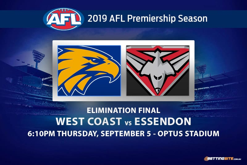 Eagles vs Bombers 2019 AFL finals