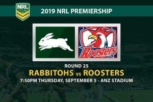 Souths vs Sydney NRL Round 25 odds