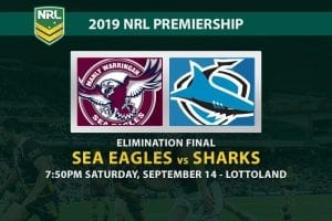 Manly Sea Eagles vs Cronulla Sharks NRL Finals 2019