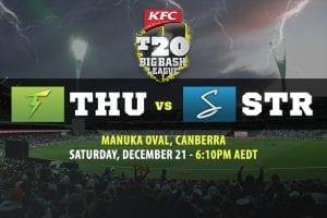 Thunder vs Strikers BBL betting tips
