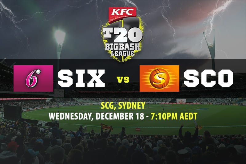 Sixers vs Scorchers BBL betting tips