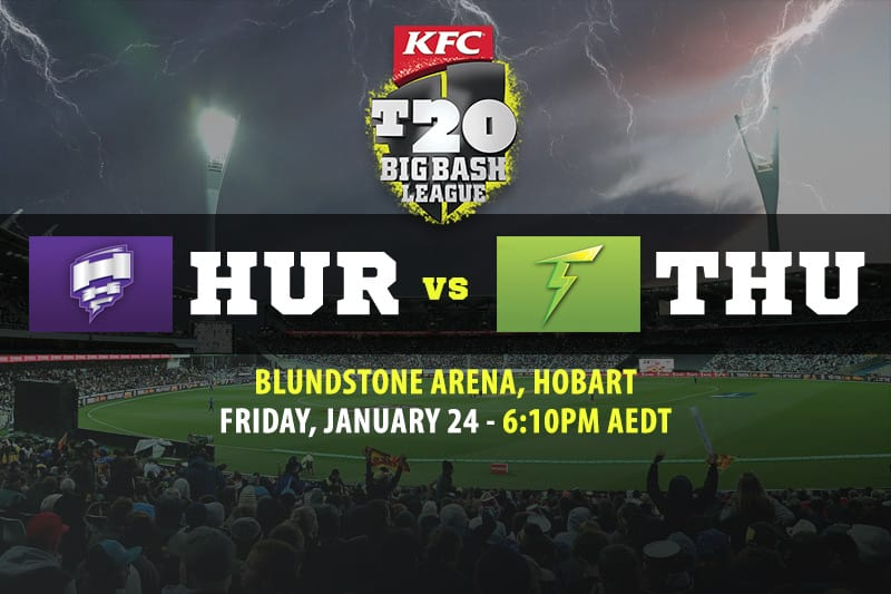 Hurricanes vs Thunder BBL betting tips