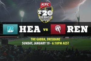 Heat vs Renegades BBL betting tips