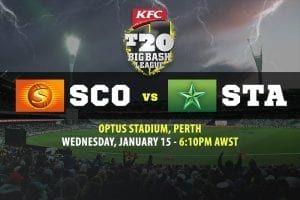 Scorchers vs Stars BBL betting tips