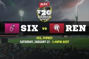 Sixers vs Renegades BBL betting tips