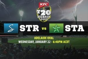Strikers vs Stars BBL betting sites