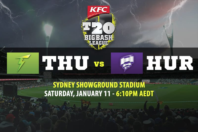 Thunder vs Hurricanes BBL betting tips