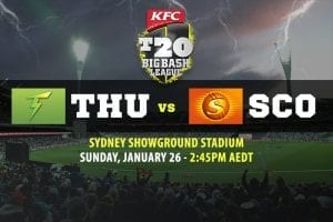 Thunder @ Scorchers BBL betting tips