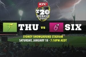Thunder vs Sixers BBL betting tips