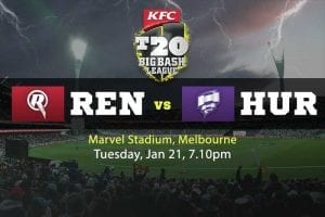 Melbourne Renegades v Hobart Hurricanes predictions and betting