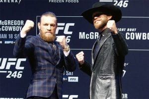 McGregor vs Cowboy UFC 246 betting tips