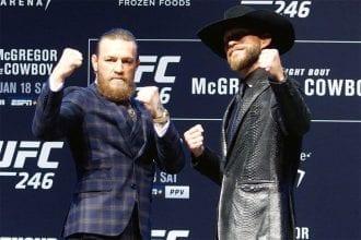McGregor vs Cowboy UFC 246 betting tips