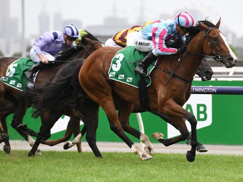 Bonvicini wins The Vanity at Flemington.