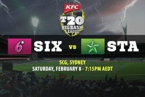 Sixers vs Stars BBL Final betting tips