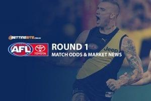 AFL Round 1 odds
