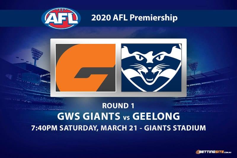 Giants vs Cats AFL betting tips