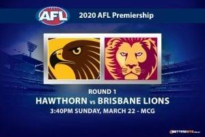 Hawks vs Lions AFL betting tips