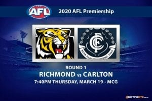 Tigers vs Blues AFL betting tips