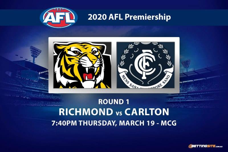 Tigers vs Blues AFL betting tips