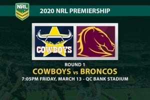 Cowboys vs Broncos NRL betting tips