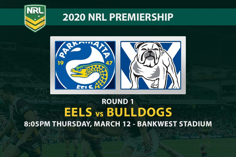 Eels vs Bulldogs NRL betting tips