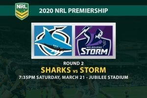 Sharks vs Storm NRL betting tips