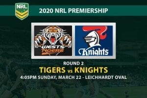Tigers vs Knights NRL betting tips