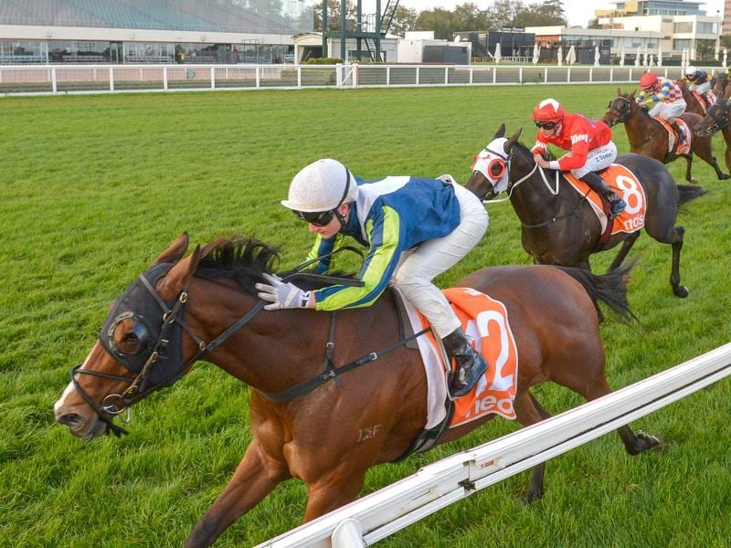 Bam's On Fire wins at Caulfield.